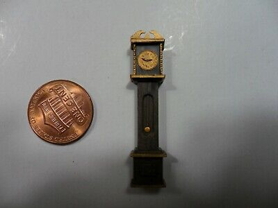 Vintage Minature Plastic Grandfather Clock