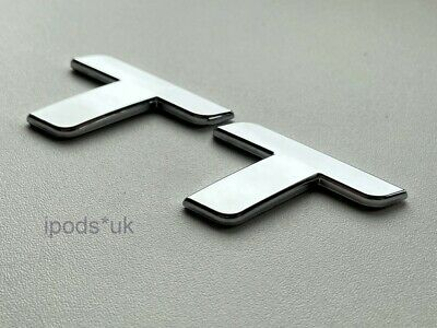 Brand New High Quality Chrome Silver Audi TT MK 2 Rear Badge Quattro S Line RS