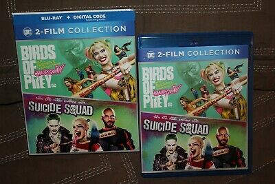 Birds Of Prey/Suicide Squad 2 Film Collection Bluray - 2 Disc Set