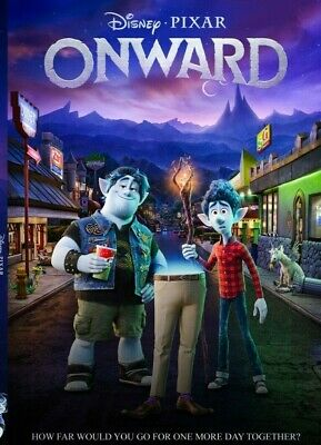 Onward (DVD/2020) 1 DISC with Case **AVAILABLE 28 MAY**