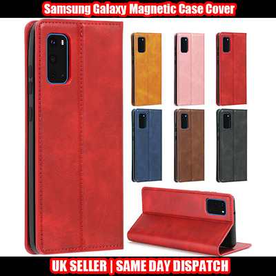 Magnetic Case Cover For Samsung Galaxy A10 A10S A30S A50 A70 Leather Card Wallet