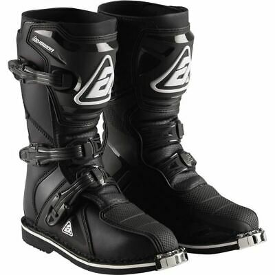 Answer Racing AR1 Youth Boots - Black, All Sizes