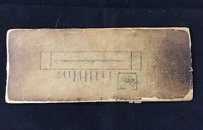 Mongolian Uighur Incomplete Manuscript  Book 12 Leaves  Mongolia