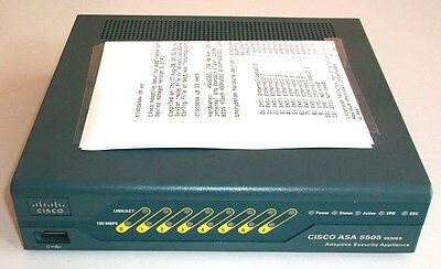 Cisco ASA5505-BUN-K9 / price w/o VAT 65 EUR