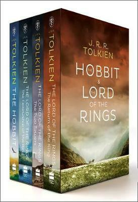 J.R.R. Tolkien 4-Book Boxed Set: The Hobbit and the Lord of the Rings (Movie...