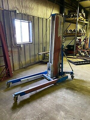 Genie SLA-25 Material Hoist, 650 Lb Capacity 26ft maximum height
