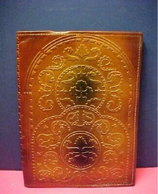 Vintage EMBOSSED LEATHER book cover