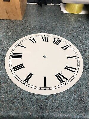 Large American Wall Clock Dial 254 Mm