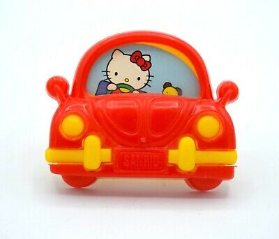Vintage Sanrio Hello Kitty VW Volkswagen Miniature Picture Frame*1990
