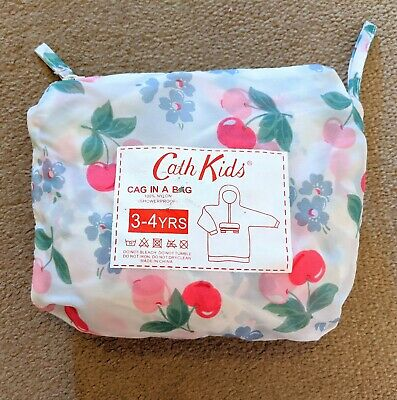 Cath kidston cag in a bag Age 3-4years raincoat