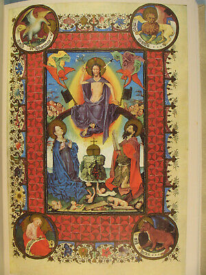 Book of Hours Illuminated Manuscript Color Facsimile Catherine of Cleves superb!