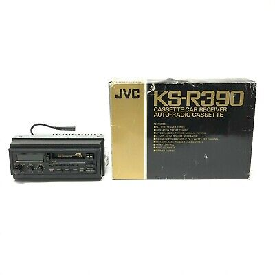 Vintage JVC Cassette Tape Car Stereo KS-R390 With Original Box