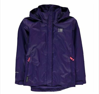 Karrimor Sierra Waterproof Jacket Weatherproof 13 Years Purple New Rrp £45