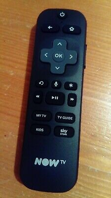 New Genuine Original Now TV Smart Stick Remote Control wifi voice search nowtv.!