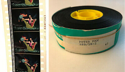 Peter Pan 35mm Film Trailer ~ 1989 re-release of 1953 Disney Animated Classic
