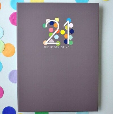 RHICREATIVE 21 The Story of You Baby Book Journal Keepsake Photo Album Scrapbook