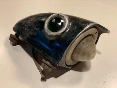 Old Antique Vintage 1920's Studebaker Deco Rat Rod Car Motorcycle Light Lamp