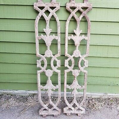 Architectural salvage Cast Iron panels