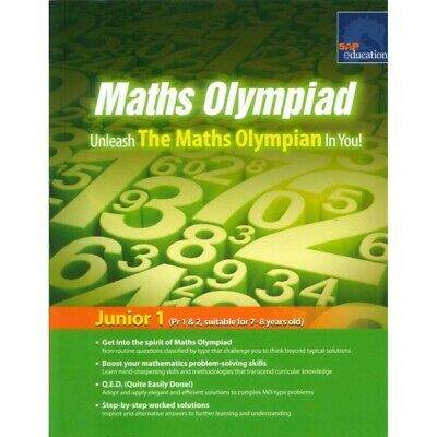 SAP Education Maths Olympiad Junior 1 for 7-8 Years Old - AU Year 3 Year 4