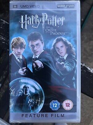 Harry Potter and the Order of the Phoenix PSP Film UMD STILL SEALED