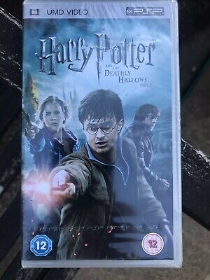 Harry Potter and the Deathly Hallows Part 2 PSP Film UMD STILL SEALED
