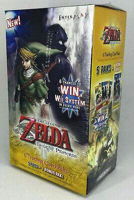 The Legend of Zelda - Twilight Princess - Trading Card - Blaster de 6 booster