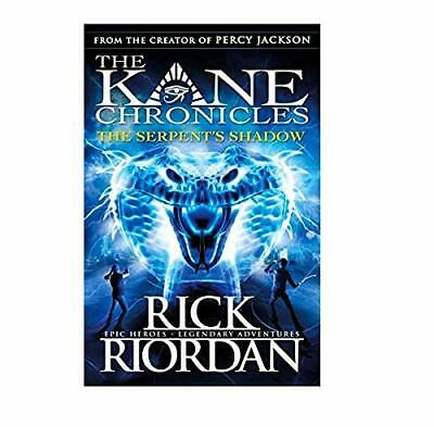 The Serpent's Shadow The Kane Chronicles Book 3 by Rick Riordan Paperback NEW Bo