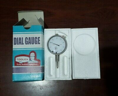 Dial gauge indicator 0-10mm X 0.01mm near new