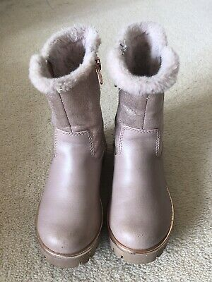 Ted Baker Girls Pink Boots Size 11