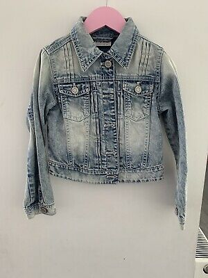 Next Girls Beautiful Denim Jacket Age 7 Years
