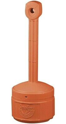 Personal Smokers Cease Fire Polyethylene Cigarette Butt Receptacle,   Beige