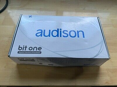 Audison Bit One DSP, Display Controller included Used