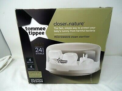 TOMMEE TIPPEE Closer To Nature Microwave Steam Steriliser Boxed (C Top)