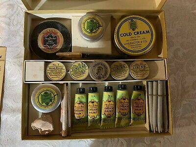 Max Factor's of Hollywood Stage Make Up Kit