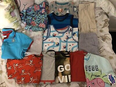 Huge Boys Summer Bundle Shorts Top 5-6 Years Ted Baker Next And More