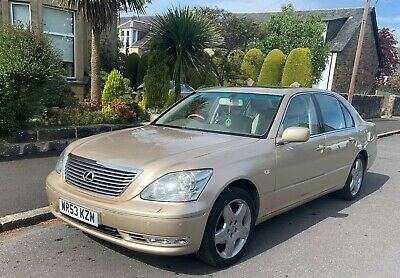 Lexus LS430 Gold/Bronze - 111k - Well looked after including cambelt service.