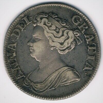 Anne - 1711 Shilling - Fourth  Bust High Grade