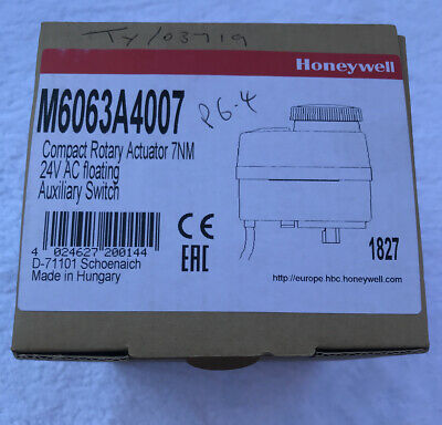 Compact rotary floating Actuator. HONEYWELL M6063A4007 Boxed.