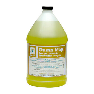 Case of 4 Gallons Spartan Damp Mop Cleaner