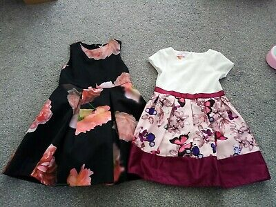 Girls Clothes 4-5 Years Bundle Next And Ted Baker Dresses