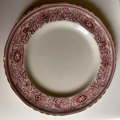 Authentic Mulberry Home Longton Hall Big Plate