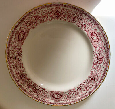 Authentic Mulberry Home Longton Hall Large Dinner Plate