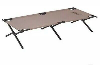 Two Pack (pair) Of Coleman Trailhead II Folding Cot, Extra wide, 300lb, New