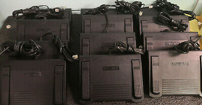 LOT OF 12 Dictaphone Transcription Foot Control Pedal P/N 0502765 #I64