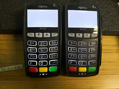 Two (2) Ingenico iPP320  Credit Card Reader Machine IPP320-01T1358A #I65