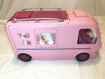 Barbie DreamCamper Adventure RV Van Kitchen Toy Vintage Camping w/Accessories