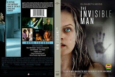 The Invisible Man Movie 2020 (DVD ) EDGE OF YOUR SEAT HORROR ELIZABETH MOSS