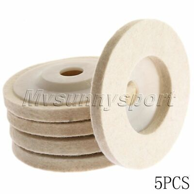 Unique Felt wool Polishing Buffing Pad Buffer Wheel Polishers Rotary Tool