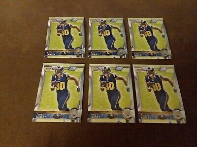 (6) Todd Gurley 2015 Topps Chrome rookie cards. Get All cards in picture-mint