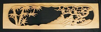 Ramma Japan wood carving interior architecture 1950's Daiku carpenter craft